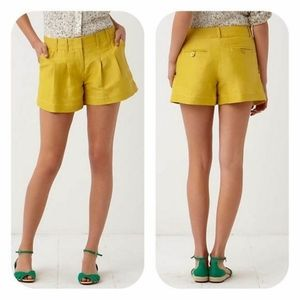 Anthropologie Cartonnier Walkabout Pleated Shorts